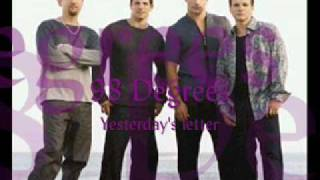 98 Degrees - Yesterday's letter