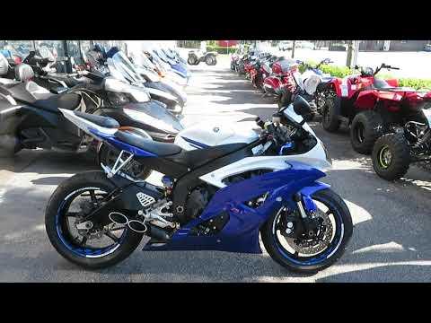 2016 Yamaha YZF-R6 in Sanford, Florida - Video 1