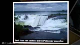 preview picture of video 'Best Waterfalls in the World Shanewilson's photos around Foz Do Igaucu, Brazil (travel pics)'