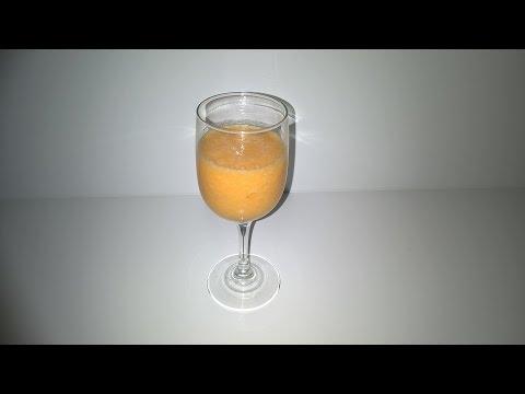 Video jus detox dengan hitam lobak, wortel, pisang dan jeruk
