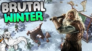 """Northgard Gameplay - """"THE WINTERS ARE BRUTAL!!!"""" Walkthrough Let"""