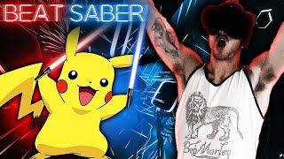 POKEMON SONGS!! | Beat Saber VR Expert Level Gameplay!