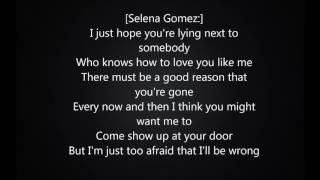 we dont talk anymore lyrics