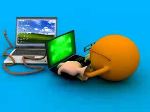 Antivirus - Internet Security Cartoon