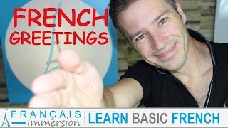 French GREETINGS Hello Bonjour – Les Salutations + FUN! (Learn French With Funny French Lessons)