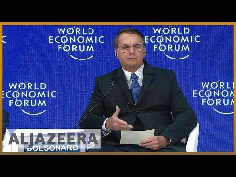 🌎 Bolsonaro to promote 'new Brazil' at Davos | Al Jazeera English