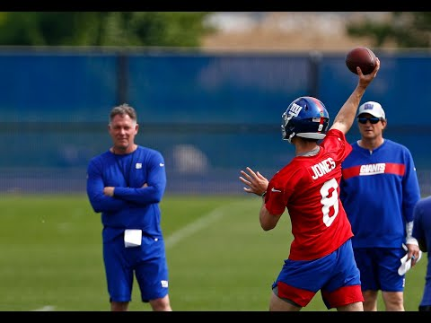 Pat Shurmur: Daniel Jones is Giants' best chance to win