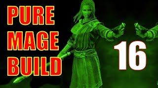 Skyrim Pure Mage Walkthrough NO WEAPONS NO ARMOR Part 16 - Business with Calcelmo