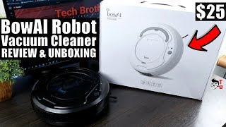 BowAI Robot Vacuum Cleaner REVIEW: It Costs ONLY $25!
