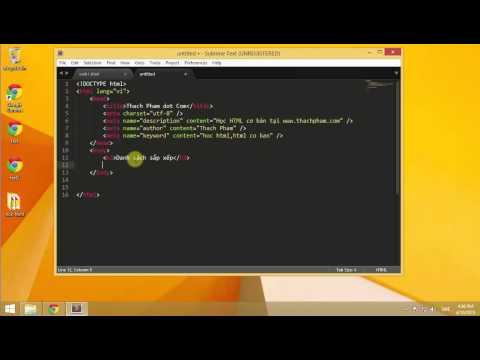 Học HTML cơ bản cùng Thạch Phạm (P6)