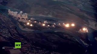 """Estado Unidos bombardea una isla iraquí """"infestada por el Estado Islámico"""" con 36 toneladas de municiones"""
