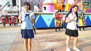 麥香水手服正妹熱舞(4K HDR)@2016夢時代大氣球遊行[無限HD]