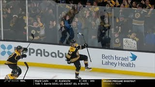 Bruins comeback win vs Minnesota 11/23/19