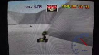 "MK64 - World Record on Sherbet Land - 37""88** (NTSC: 31""50) by Daniel Burbank"
