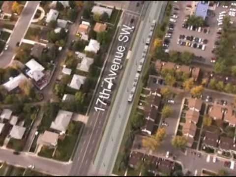Calgary West LRT Route Animation Mp3