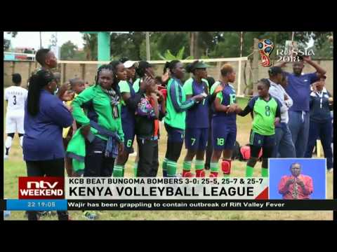 KCB beat Bungoma bombers in Kenya Volleyball League