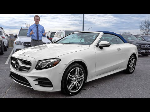 NEW 2020 Mercedes-Benz E 450 Cabriolet Convertible tour with Austin