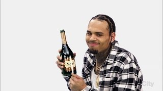"Chris Brown on Blackish ""Put Some Uvo on It"" Ad"
