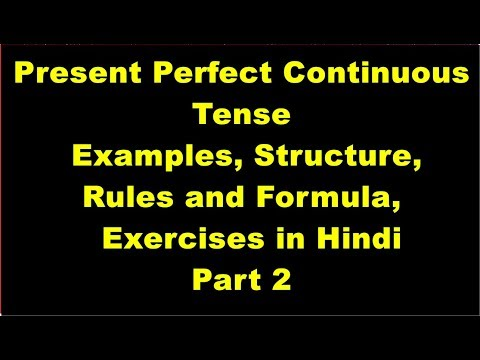 What is present perfect interrogative