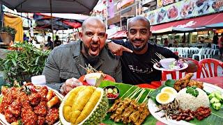 تحدي اكل الشوارع في ماليزيا Malaysian Street Food 🇲🇾