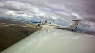 preview picture of video 'Grob 109 wing camera footage - Bacchus Marsh Vic Australia'