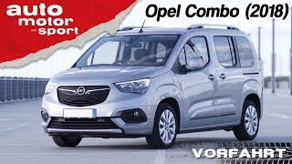 Opel Combo (2018): Lieferwagen oder Lifestyler? – Vorfahrt (Review) | auto motor und sport