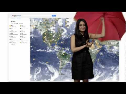Get The Weather In Google Maps