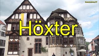 preview picture of video 'Höxter-interessante Fachwerkstadt in Nordrhein-Westfalen'