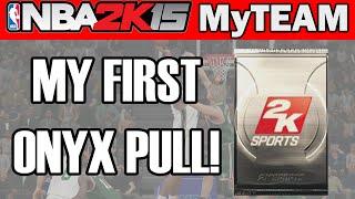 MY FIRST ONYX PULL!! - NBA 2K15 MyTeam Pack Opening | NBA 2K15 Throwback Thursday Packs