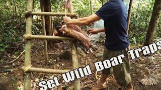 Primitive technology - Survival Challenge - The 6-month survival challenge in the jungle part 2