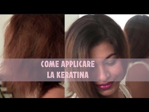 Balsamo di kapous per una ricostruzione di capelli