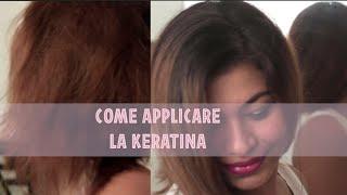 Come applicare la keratina a casa - Vania Lezama