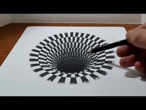How To Create The Illusion Of 3D Using Pencil And Paper