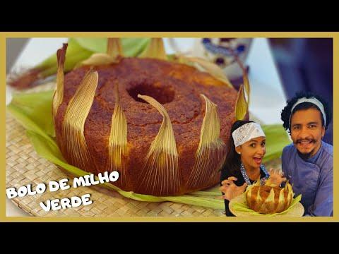 BOLO DE MILHO VERDE TRADICIONAL - FOFSSIMO E MUITO SABOROSO