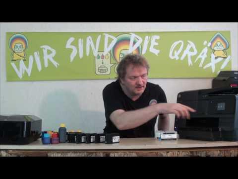 HP 932, HP 933, HP 950 und HP951 Druckerpatronen nachfüllen