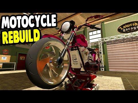 Rebuilding AMAZING Motorcycles & UPGRADES for CASH | Motorbike Garage Mechanic Simulator