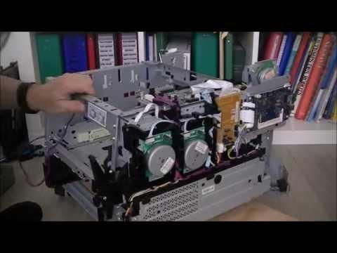 HP laserjet pro 400 color printer teardown part 3 big progress