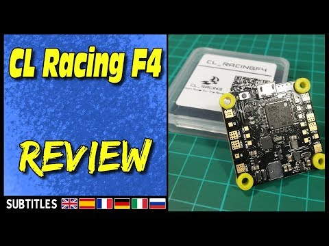 CL Racing F4 - Flight Controller Review