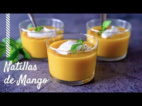 Natillas De Mango: Ligeras y Refrescantes