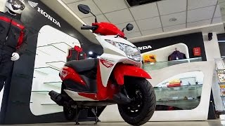 #ScooterFest: Honda Dio Review, Walkaround (red, blue, black colours) | Comparo with Activa