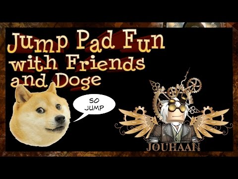 Jump Pad Fun with Friends and Doge - Miners Haven