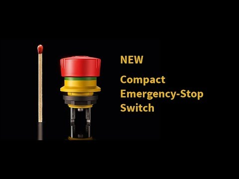 BANGGOOD 2pcs N/O N/C Emergency Stop Switch Push Button Mushroom 4 Screw Terminals