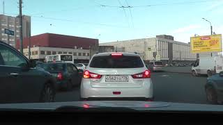 Пробный Урок Вождения с учеником из-под Московья.в дистанционном режиме. Маршруты ГИБДД .