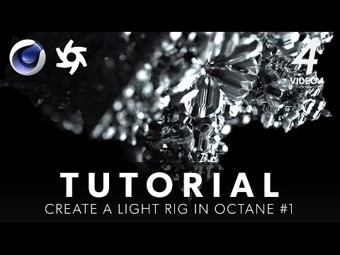 Create a OCTANE Light Rig #1 – Cinema 4D Tutorial