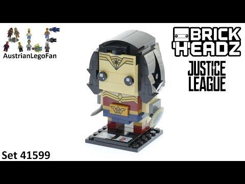 Vidéo LEGO BrickHeadz 41599 : Wonder Woman