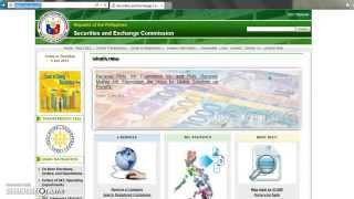 Checking SEC-registered companies