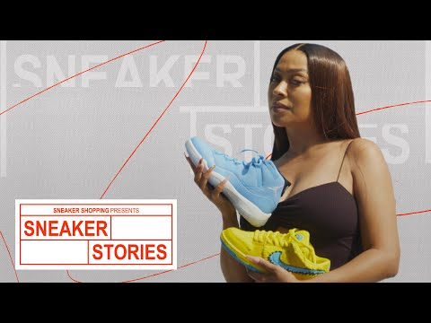 La La Anthony Shows Off Dior x Air Jordans, Ben & Jerry's Nike SBs, and More On Sneaker Stories