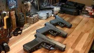 Пистолеты Глок 17, Глок 19 и Глок 26 - Обзор и детальная информация