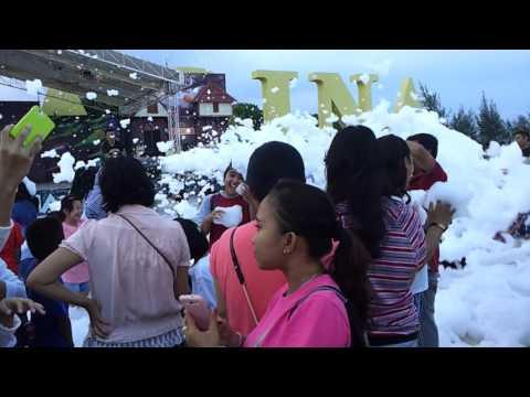 Video Party foam di taman wisata ocarina batam