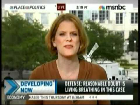 Meg Strickler on MSNBC at the end of the day July 3, 2011 discussing Casey Anthony closing arguments